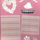 """""""Engagement""""-Premade Scrapbook Page -8 1/2 x 11""""  Layout"""