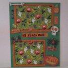"""Happy Hallowen Spiders""-Premade Scrapbook Page -8 1/2 x 11""  Layout"