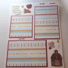 """School Set 1""-Premade Scrapbook Page -8 1/2 x 11""  Layout"