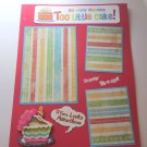 """So Many Candles""-Premade Scrapbook Page -8 1/2 x 11""  Layout"