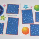 """One Of A Kind Solar a dbl""-Premade Scrapbook Pages 12x12-Double Page Layout"