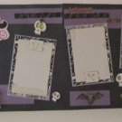 """""""Best Witches dbl""""-Premade Scrapbook Pages 12x12-Double Page Layout"""
