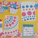 """Bingo dbl""-Premade Scrapbook Pages 12x12-Double Page Layout"
