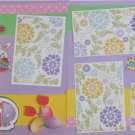 """""""Easter dbl""""-Premade Scrapbook Pages 12x12-Double Page Layout"""