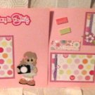 """Everyday Is A Story Girl dbl""-Premade Scrapbook Pages 12x12-Double Page Layout"
