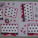 """""""Garage Band dbl""""-Premade Scrapbook Pages 12x12-Double Page Layout"""