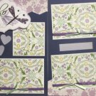 """Mother dbl""-Premade Scrapbook Pages 12x12-Double Page Layout"
