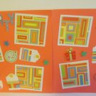 """Party Tear Bear dbl""-Premade Scrapbook Pages 12x12-Double Page Layout"