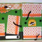 """Bowling Girl dbl""-Premade Scrapbook Pages 12x12-Double Page Layout"