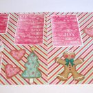 """Homemade Gingerbread House dbl""-Premade Scrapbook Pages 12x12-Double Page Layout"