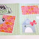 """My Kat dbl""-Premade Scrapbook Pages 12x12-Double Page Layout"