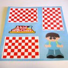 """""""A Kid With Class Boy""""-Premade Scrapbook Page 12x12"""