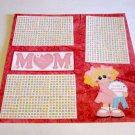 """Mom Girl""-Premade Scrapbook Page 12x12"
