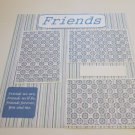 """Friends 1""-Premade Scrapbook Page 12x12"