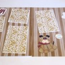 """New Puppy dbl""-Premade Scrapbook Pages 12x12-Double Page Layout"