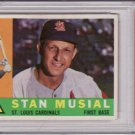 Stan Musial 1960 Topps #250 Graded PSA 6 EX-MT