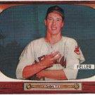 Bob Feller 1955 Bowman #134 Baseball Card EX+ Condition