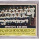Brooklyn Dodgers 1956 Topps #166 BVG 4.5 VG-EX+