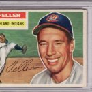 Bob Feller 1956 Topps #200 Baseball Card PSA 5 EX