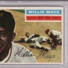 Willie Mays 1956 Topps #130 Baseball Card PSA 3 VG