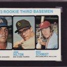 Mike Schmidt 1973 Topps #615 Rookie Card SGC 84 NM 7