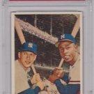 World Series Batting Foes 1958 Topps #418 PSA 4 VG-EX