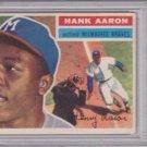 Hank Aaron 1956 Topps #31 (Gray Back) PSA 4 VG-EX