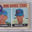 Nolan Ryan 1968 Topps #177 Rookie Card BVG 3.5 VG+