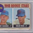 Nolan Ryan 1968 Topps #177 Rookie Card BVG 3 VG