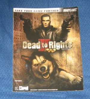 Dead to Rights Strategy Guide Xbox Playstation 2