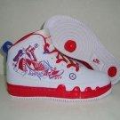 Jordan9 Fusion -Red and White Graffiti - 121853