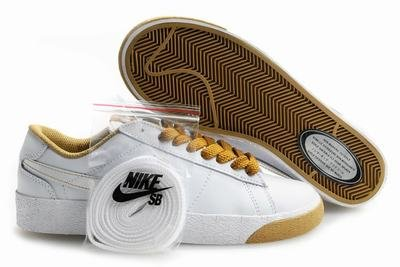 Blazer Low -White/Khaki-118014