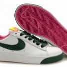 Blazer Low-White/Pink/Green-118027