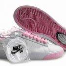 Blazer Low-White on Powder Pink-118012
