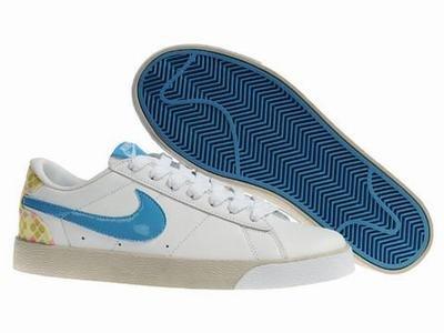 Blazer Low-White/Blue/Khaki-117995