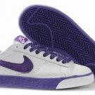 Blazer Low-Purple on Grey-117999