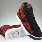Blazer High-Red and Black Checkered-117964