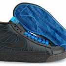 Blazer High-Blue ZigZag on Black-117968
