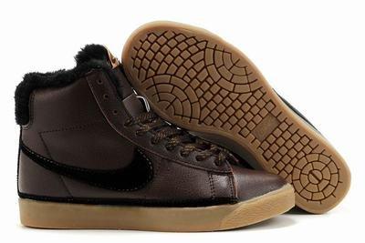 Blazer High-Black on Brown Gum-117978
