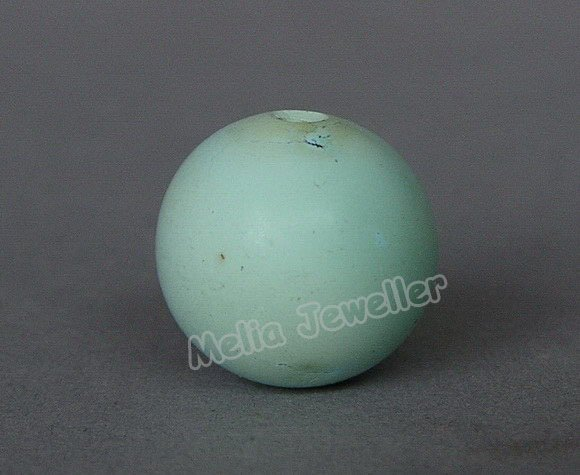 Natural Turquoise Dia.14 mm Round Loose Bead