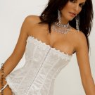 Slimming jacquard tapestry, strapless corset.80054