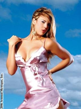 Tied front satin mini dress.80112