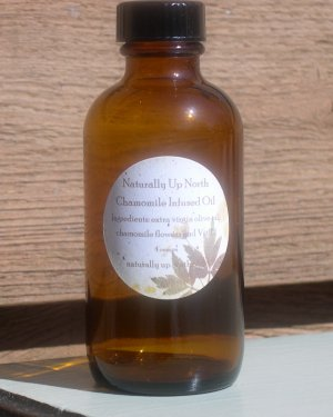 Chamomile Herbal Infused Oil 4 ounces