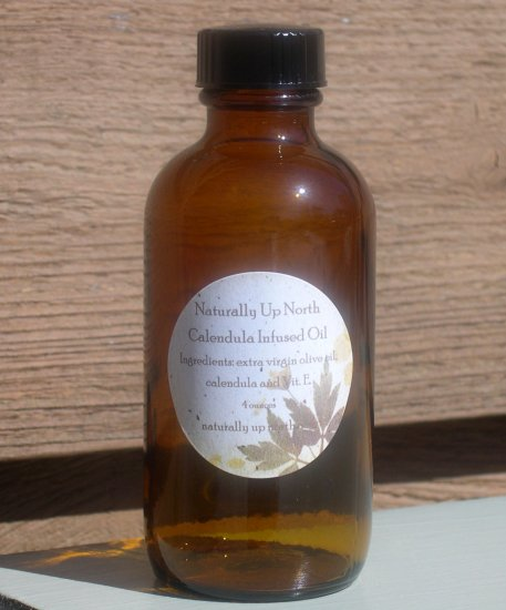 Calendula Herbal Infused Oil 4 ounces
