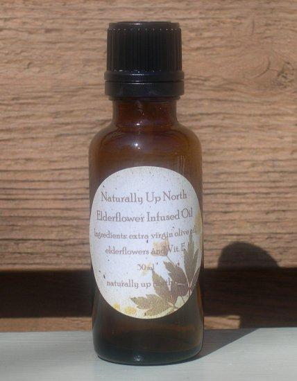 Elderflower Elder Flowers Herbal Infused Oil 30 ml