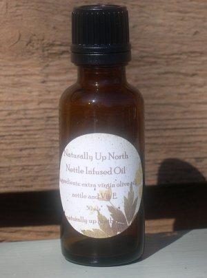 Nettle Herbal Infused Oil 30 ml