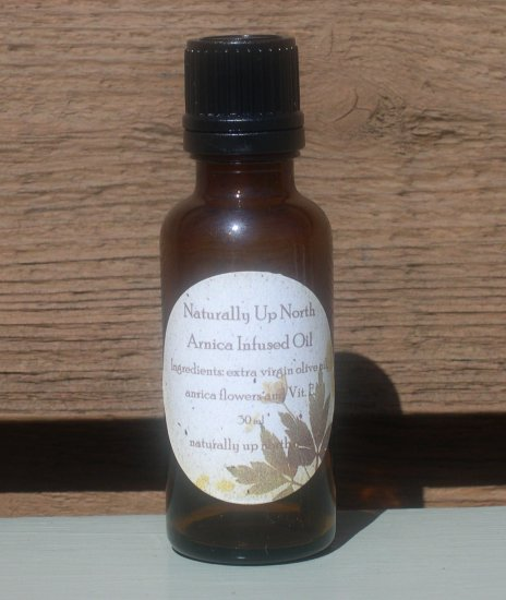 Arnica Flower Infused Herbal Oil 30ml