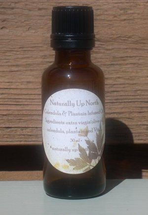 Calendula and Plantain Herbal Oil 30 ml