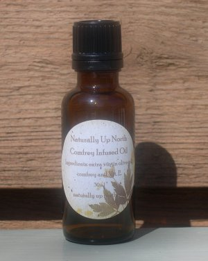 Comfrey Infused Herbal Oil 30ml