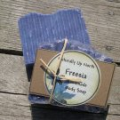 Freesia Handmade Cold Process Vegy Soap Fresh Clean Crisp Sweet Floral